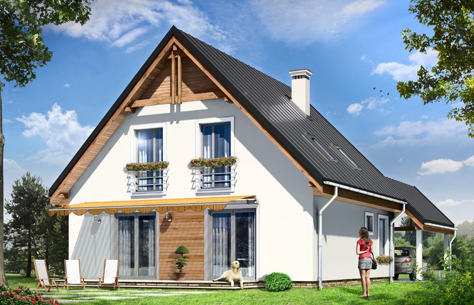 adelaparvu.com despre proiecte de case cu parter si parter si mandarda, Proiect mgprojekt.com.plFoto MGProject (7)