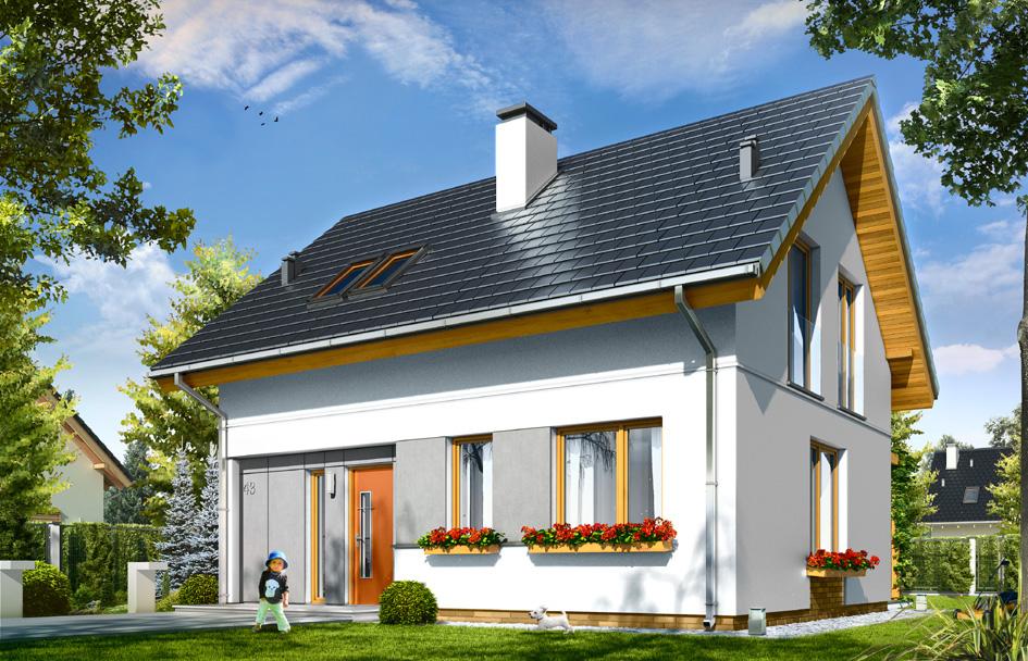 adelaparvu.com despre proiecte de case cu parter si parter si mandarda, Proiect mgprojekt.com.plFoto MGProject (9)