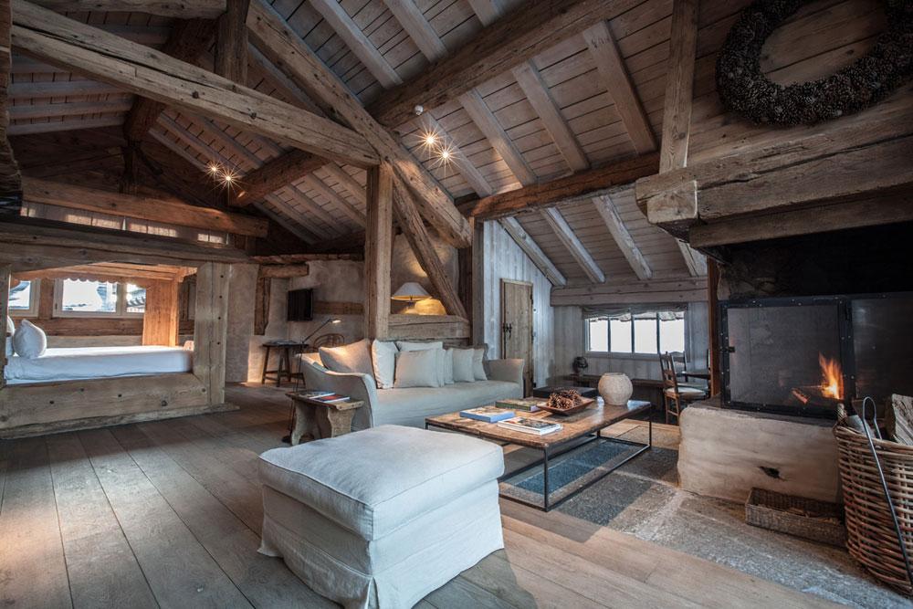 adelaparvu.com despre cabana de munte in Franta, Le chalet Zannier, Hotel Megeve (10)