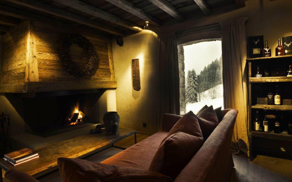 adelaparvu.com despre cabana de munte in Franta, Le chalet Zannier, Hotel Megeve (19)