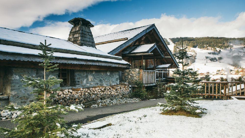 adelaparvu.com despre cabana de munte in Franta, Le chalet Zannier, Hotel Megeve (20)