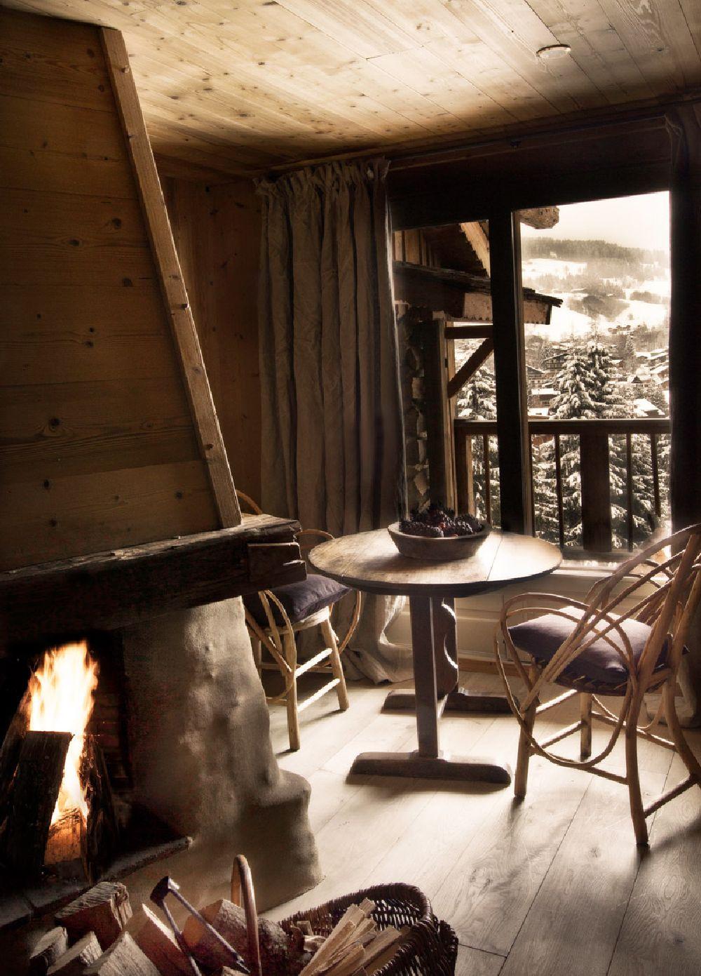adelaparvu.com despre cabana de munte in Franta, Le chalet Zannier, Hotel Megeve (22)
