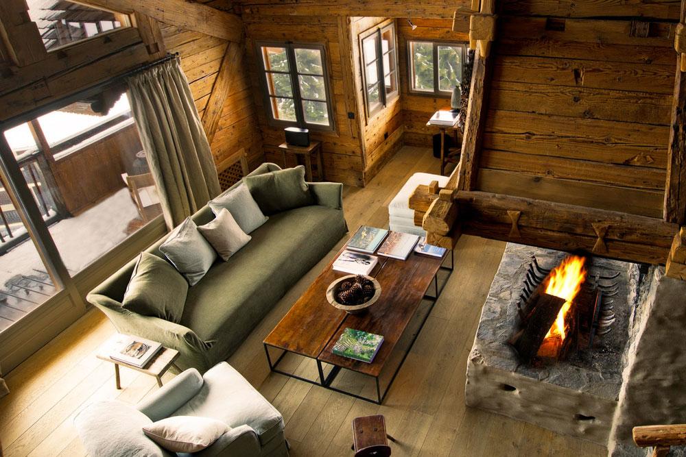 adelaparvu.com despre cabana de munte in Franta, Le chalet Zannier, Hotel Megeve (5)