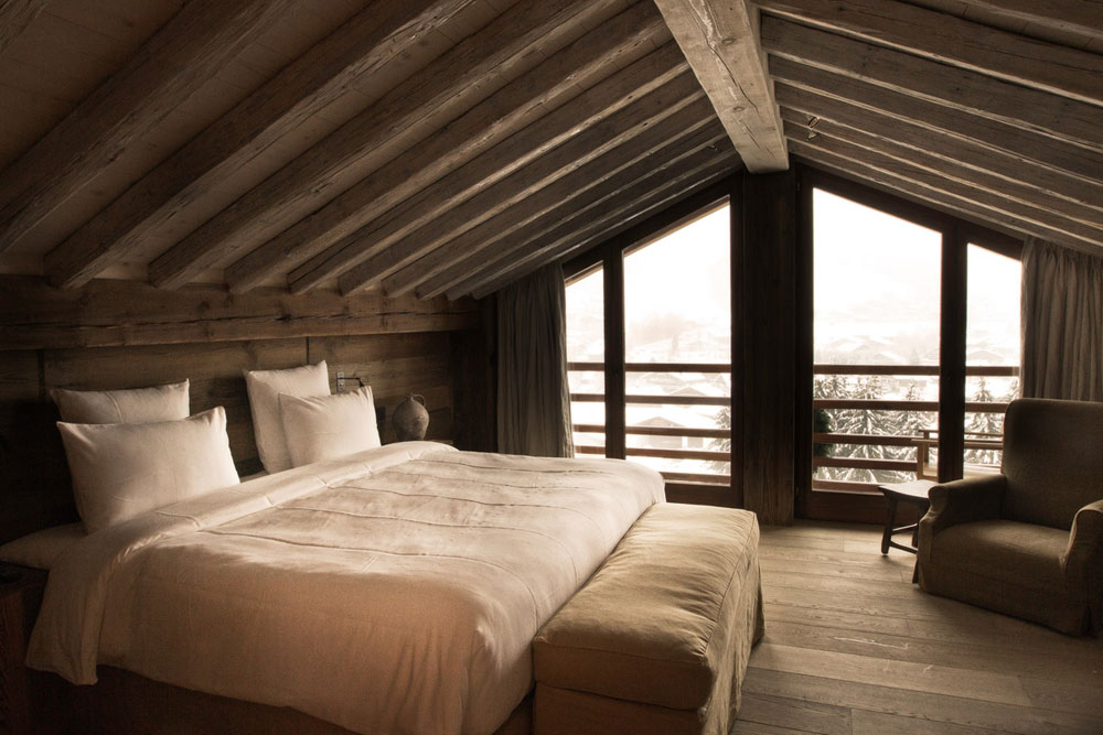 adelaparvu.com despre cabana de munte in Franta, Le chalet Zannier, Hotel Megeve (8)