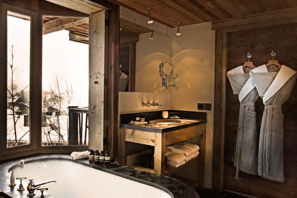 adelaparvu.com despre cabana de munte in Franta, Le chalet Zannier, Hotel Megeve (9)