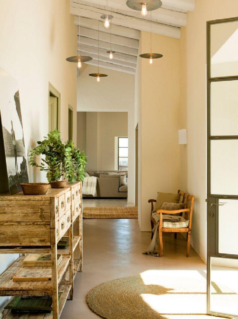 adelaparvu.com despre casa rustic industriala, arhitectura Lizarriturry Tuneu, design interior Ester Prat Badia, Foto ElMueble (1)