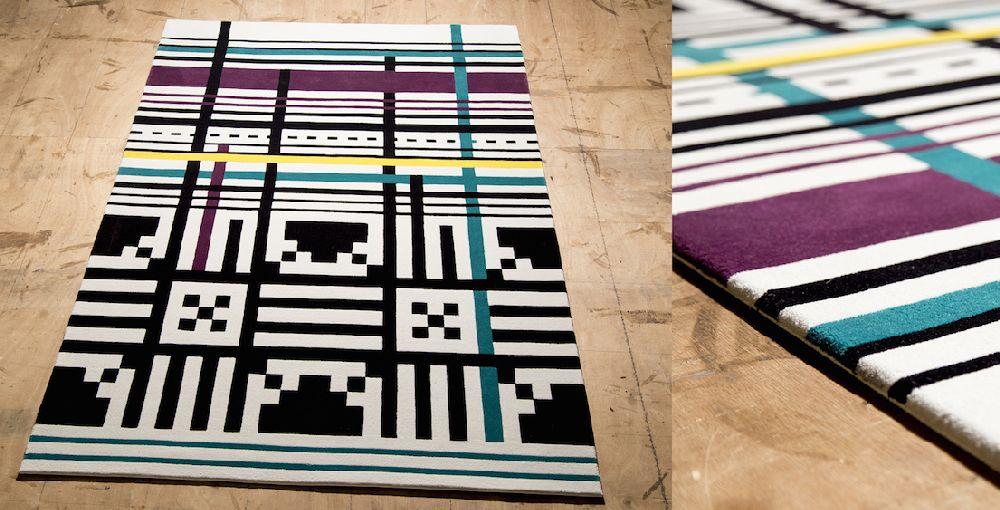 adelaparvu.com despre covoare de lana, designeri Andreea Batros si Flavia Scinteanu, Dare to Rug, model Ecstatic