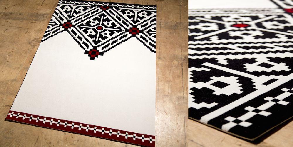 adelaparvu.com despre covoare de lana, designeri Andreea Batros si Flavia Scinteanu, Dare to Rug, model Edgy