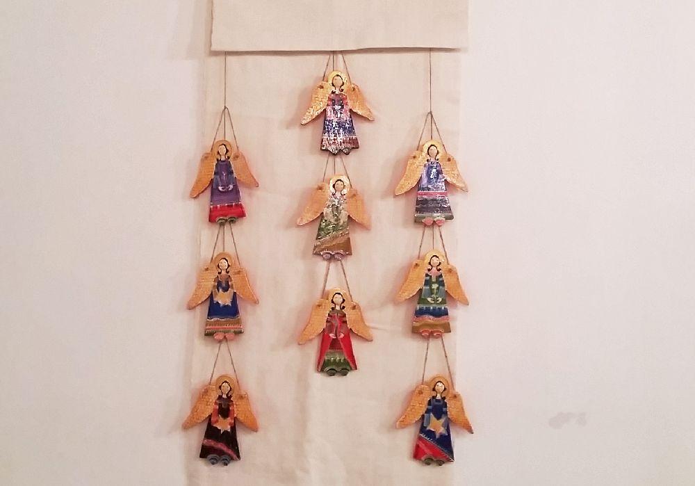 adelaparvu.com despre expozitia Ingerasii din povestea mea, Carturesti Verona, artist Beatrice Iordan (7)
