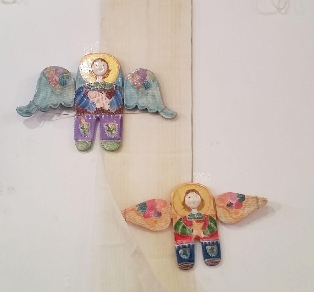 adelaparvu.com despre expozitia Ingerasii din povestea mea, Carturesti Verona, artist Beatrice Iordan (8)