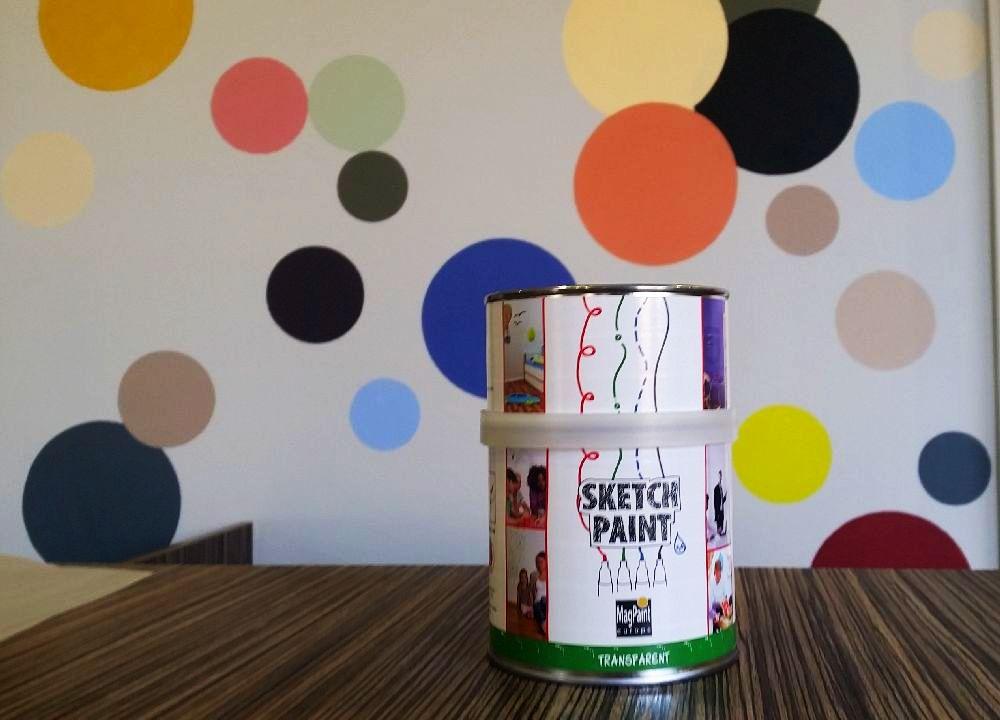 adelaparvu.com despre vopsea cu efect de tabla alba, vopsea SketchPaint de la magazinul Dulux culori si idei (3)