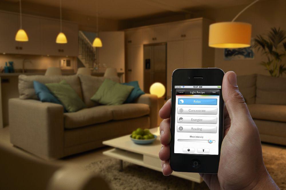 adelaparvu.com despre Philips Hue, sistemul de iluminat care coloreaza spatiile (7)