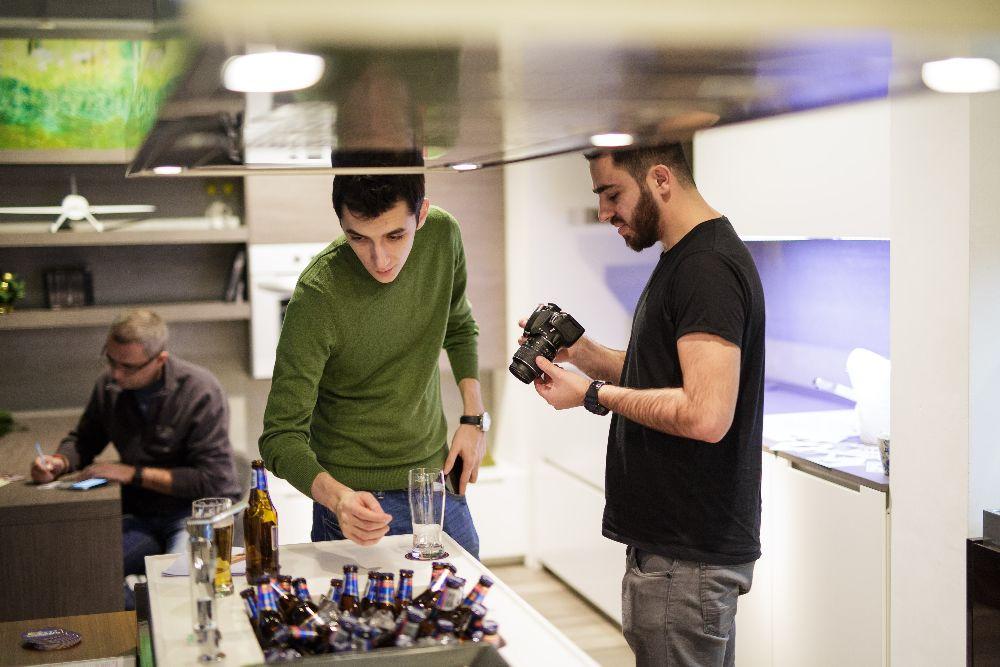 adelaparvu.com despre Sarbatori acasa cu Timisoreana, retete cu bere gatite de Marius Tudosiei