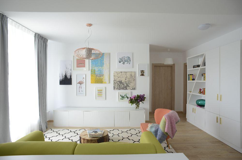 adelaparvu.com despre amenajare apartament 3 camere The Park, designer Irina Pogonaru (1)