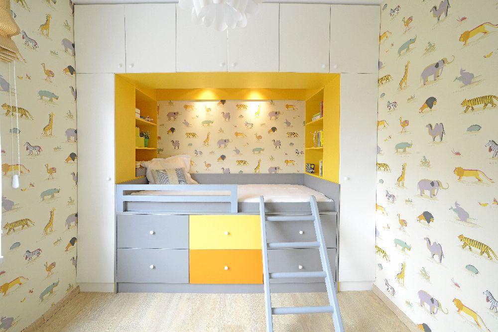 adelaparvu.com despre amenajare apartament 3 camere The Park, designer Irina Pogonaru (12)