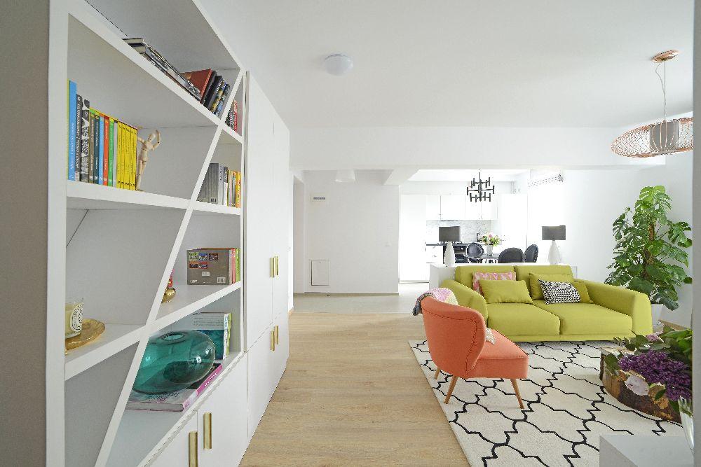 adelaparvu.com despre amenajare apartament 3 camere The Park, designer Irina Pogonaru (3)