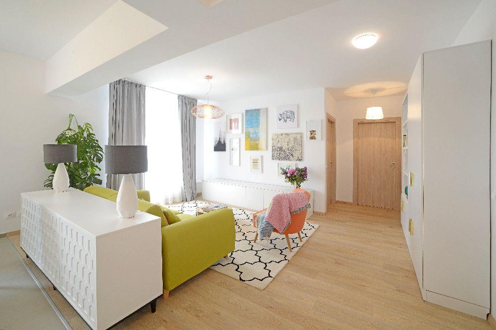 adelaparvu.com despre amenajare apartament 3 camere The Park, designer Irina Pogonaru (4)