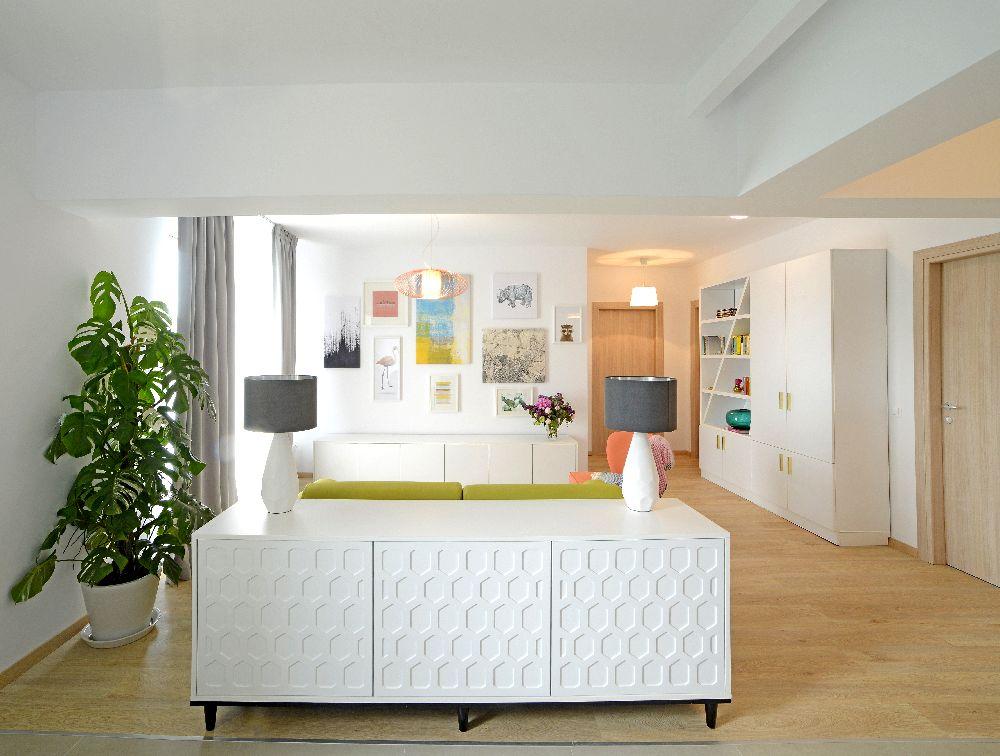 adelaparvu.com despre amenajare apartament 3 camere The Park, designer Irina Pogonaru (8)
