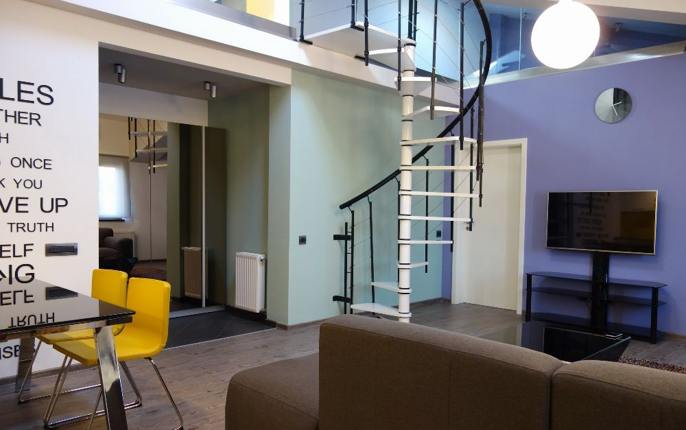 adelaparvu.com despre amenajare apartament la ultimul nivel Bucuresti, design interior arh. Alexandru Ispas, Foto Alexandru Ispas (17)