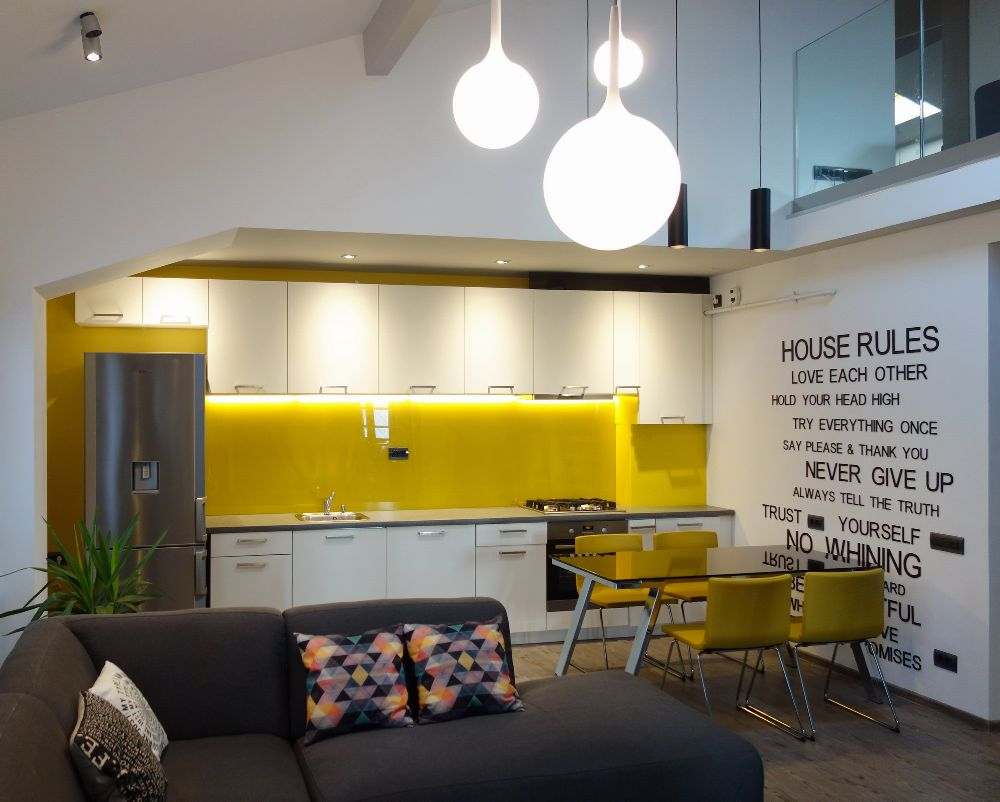 adelaparvu.com despre amenajare apartament la ultimul nivel Bucuresti, design interior arh. Alexandru Ispas, Foto Alexandru Ispas (2)