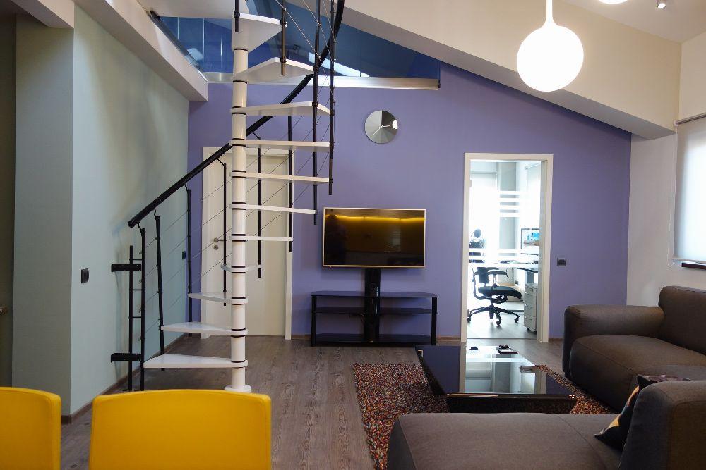 adelaparvu.com despre amenajare apartament la ultimul nivel Bucuresti, design interior arh. Alexandru Ispas, Foto Alexandru Ispas (20)