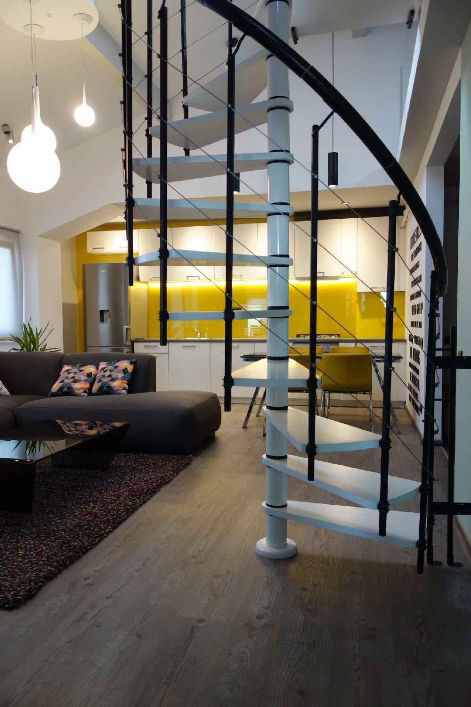 adelaparvu.com despre amenajare apartament la ultimul nivel Bucuresti, design interior arh. Alexandru Ispas, Foto Alexandru Ispas (22)
