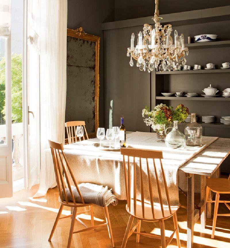 adelaparvu.com despre apartament amenajat in stil clasic modern, design interior BCA Interiors, Foto ElMueble (10)