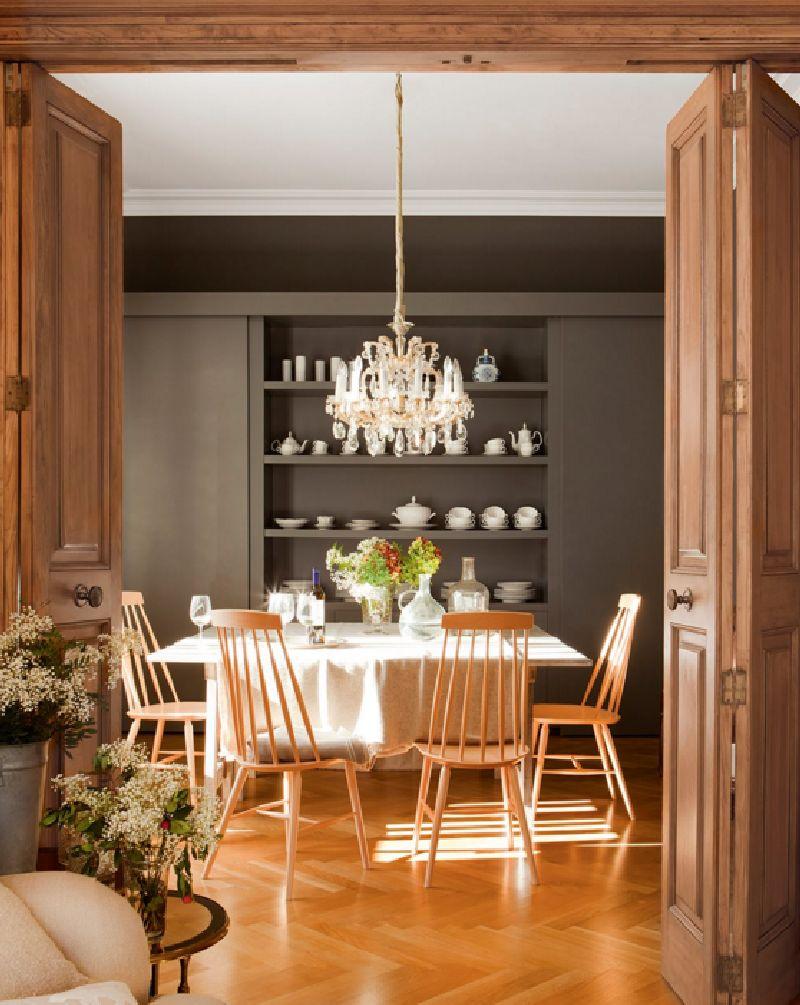 adelaparvu.com despre apartament amenajat in stil clasic modern, design interior BCA Interiors, Foto ElMueble (12)