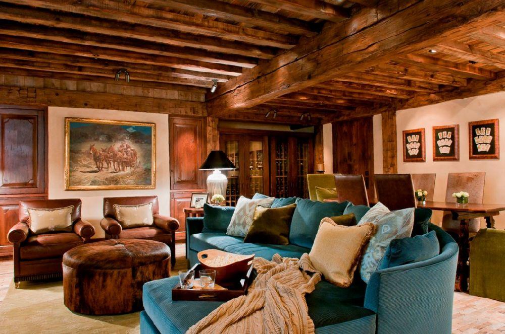 adelaparvu.com despre cabana de munte, Alpine Dancing Hearts, Monta SUA, arh Larry Pearson, designer de interior Debra Shull, Foto Yellowstone Traditions (11)