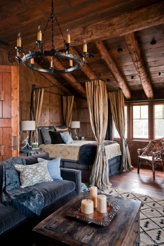 adelaparvu.com despre cabana de munte, Alpine Dancing Hearts, Monta SUA, arh Larry Pearson, designer de interior Debra Shull, Foto Yellowstone Traditions (4)