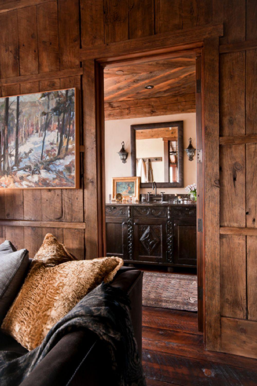adelaparvu.com despre cabana de munte, Alpine Dancing Hearts, Monta SUA, arh Larry Pearson, designer de interior Debra Shull, Foto Yellowstone Traditions (6)