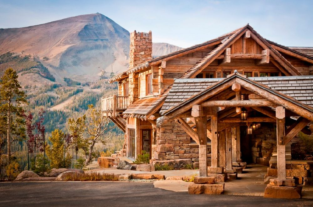 adelaparvu.com despre cabana de munte, Alpine Dancing Hearts, Monta SUA, arh Larry Pearson, designer de interior Debra Shull, Foto Yellowstone Traditions (7)