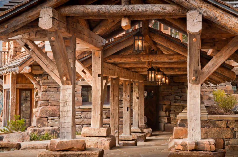 adelaparvu.com despre cabana de munte, Alpine Dancing Hearts, Monta SUA, arh Larry Pearson, designer de interior Debra Shull, Foto Yellowstone Traditions (8)