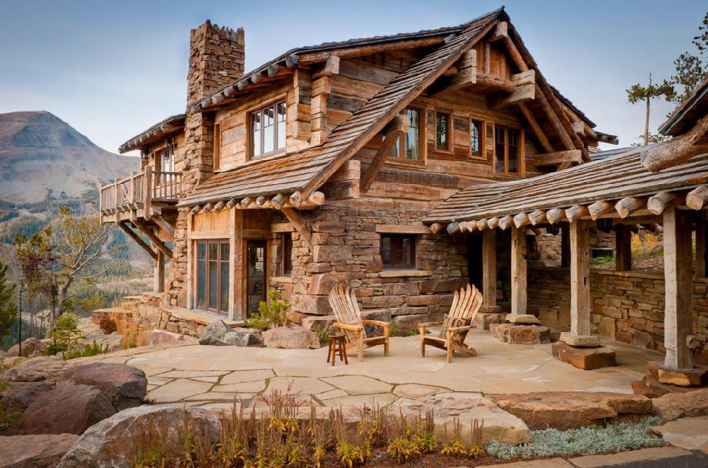 adelaparvu.com despre cabana de munte, Alpine Dancing Hearts, Monta SUA, arh Larry Pearson, designer de interior Debra Shull, Foto Yellowstone Traditions (9)