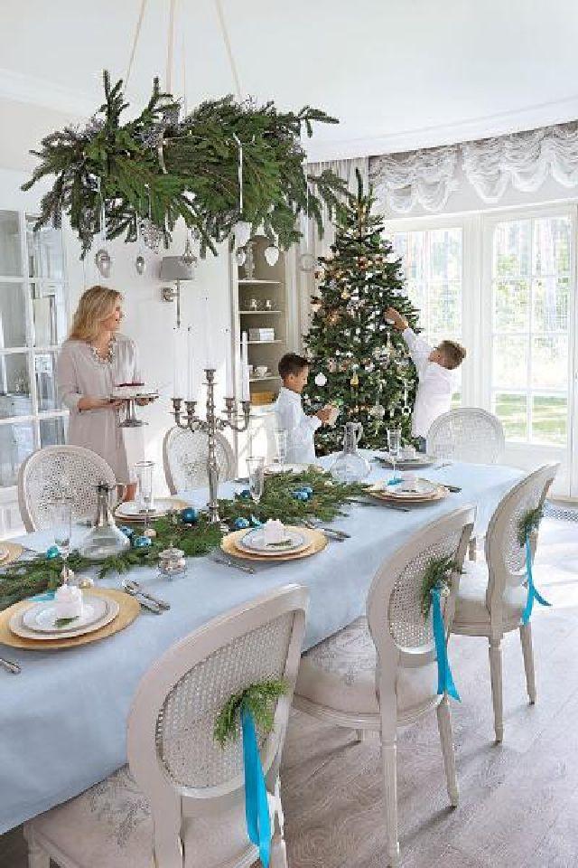 adelaparvu.com despre casa cu interior clasic Polonia frumos decorata de Craciun, Foto Aneta Tryczynska, Weranda (12)