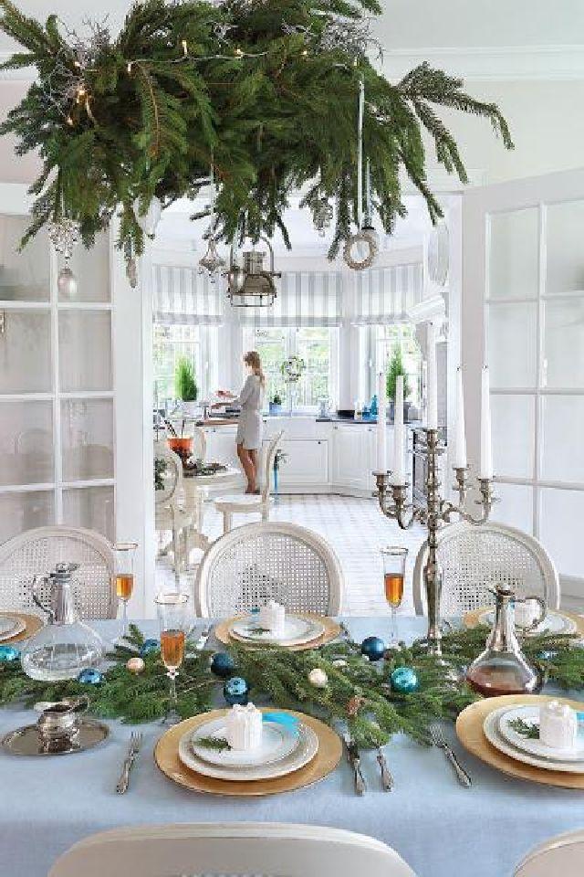 adelaparvu.com despre casa cu interior clasic Polonia frumos decorata de Craciun, Foto Aneta Tryczynska, Weranda (18)