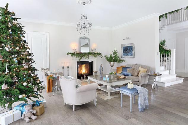 adelaparvu.com despre casa cu interior clasic Polonia frumos decorata de Craciun, Foto Aneta Tryczynska, Weranda (22)