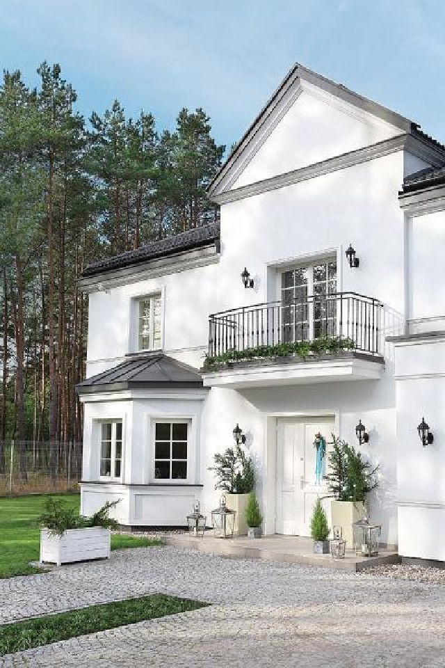 adelaparvu.com despre casa cu interior clasic Polonia frumos decorata de Craciun, Foto Aneta Tryczynska, Weranda (3)