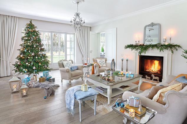 adelaparvu.com despre casa cu interior clasic Polonia frumos decorata de Craciun, Foto Aneta Tryczynska, Weranda  (4)