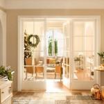 adelaparvu.com despre casa decorata de Craciun in alb si auriu, designer Silvia Rademakers, Foto ElMueble (1)