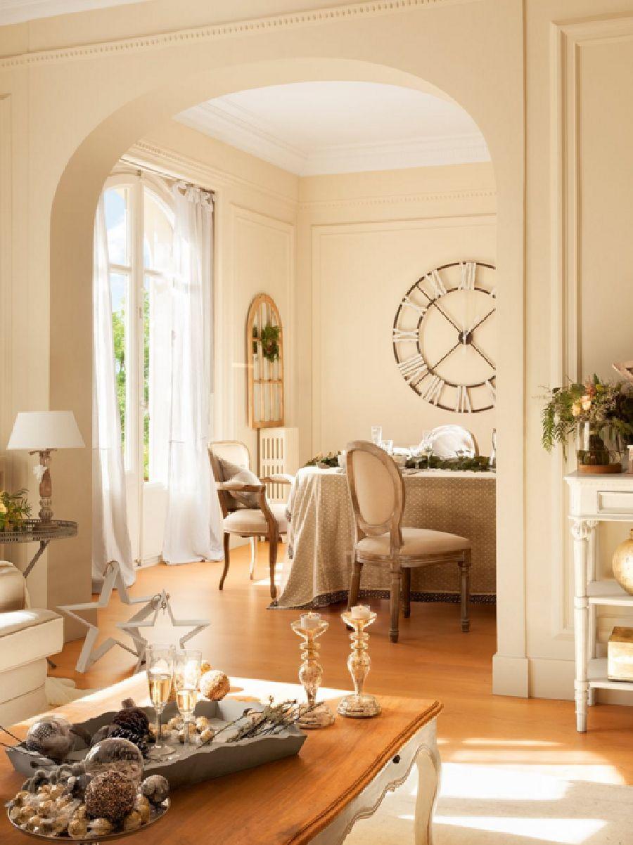 adelaparvu.com despre casa decorata de Craciun in alb si auriu, designer Silvia Rademakers, Foto ElMueble (10)