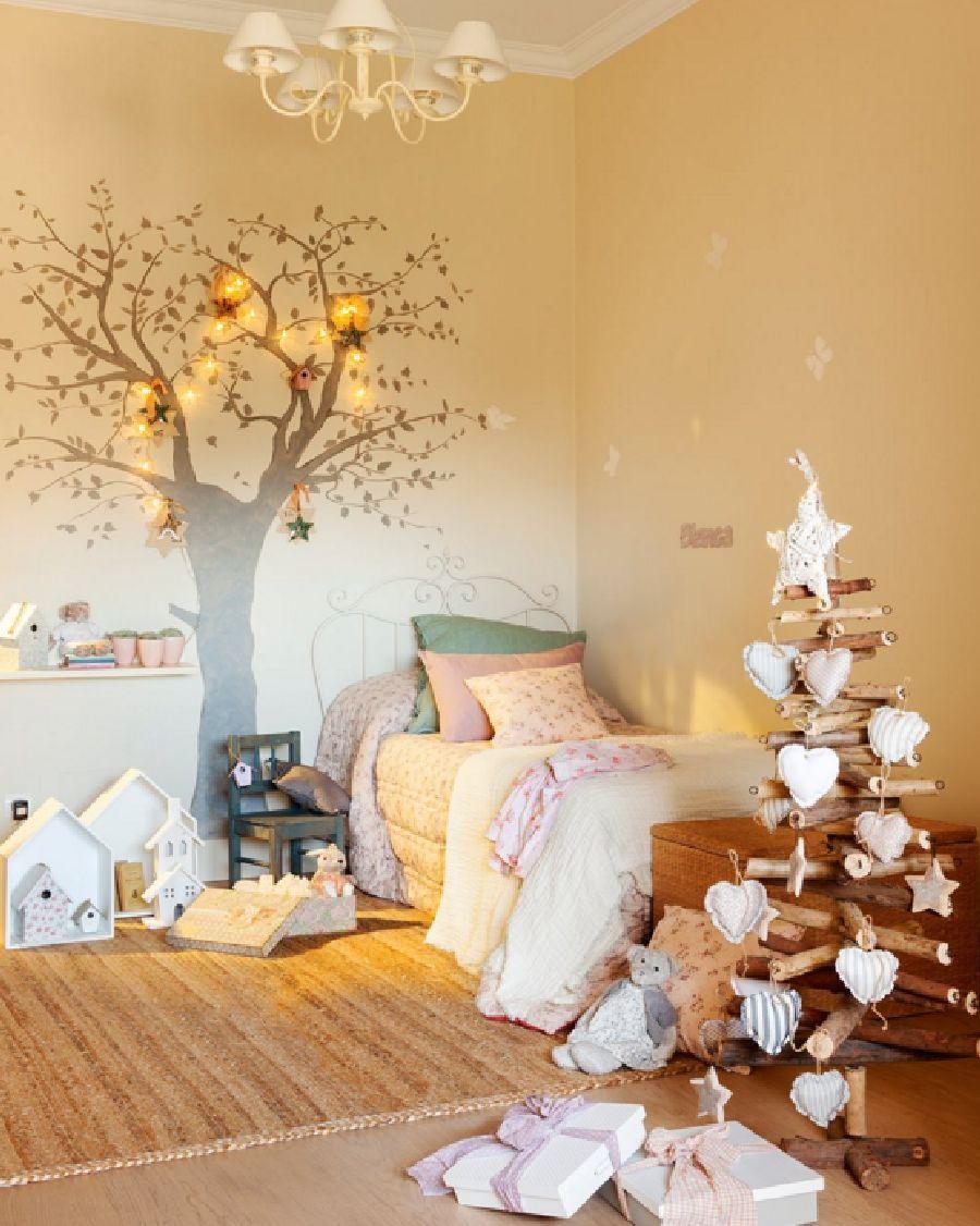 adelaparvu.com despre casa decorata de Craciun in alb si auriu, designer Silvia Rademakers, Foto ElMueble (13)
