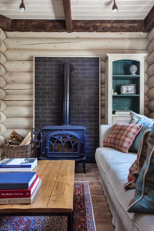 adelaparvu.com despre casa rustica, casa Rusia, design interior ID Design (2)