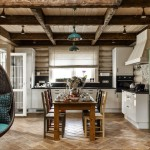 adelaparvu.com despre casa rustica, casa Rusia, design interior ID Design (4)