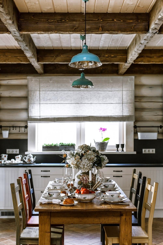 adelaparvu.com despre casa rustica, casa Rusia, design interior ID Design (8)