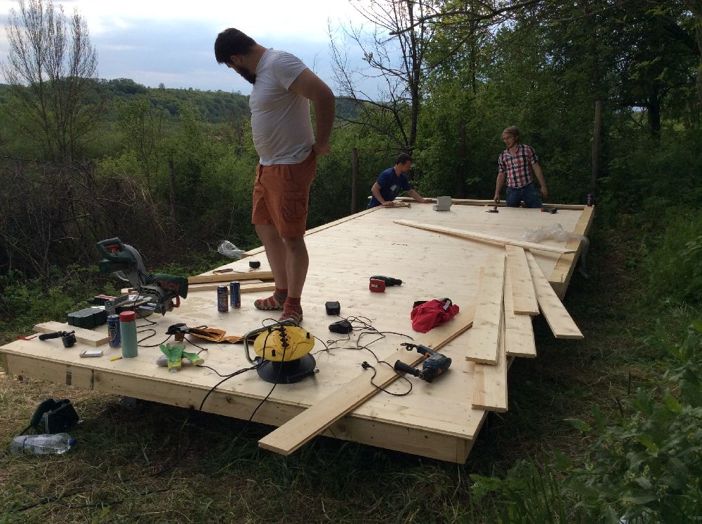 adelaparvu.com despre casuta din lemn pentru gradina construita cu unelte Bosch, design Stefan Lazar, Foto Stefan Lazar (11)