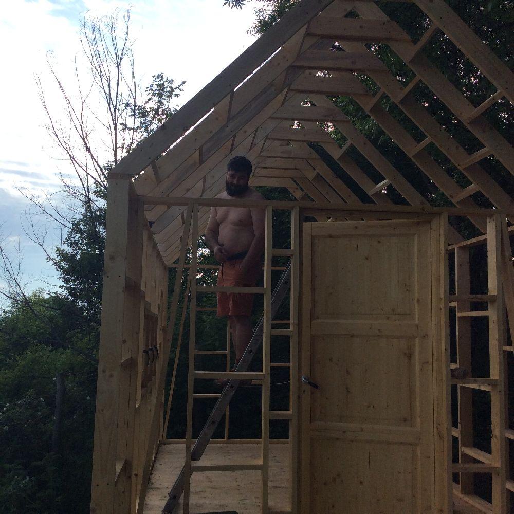 adelaparvu.com despre casuta din lemn pentru gradina construita cu unelte Bosch, design Stefan Lazar, Foto Stefan Lazar (26)