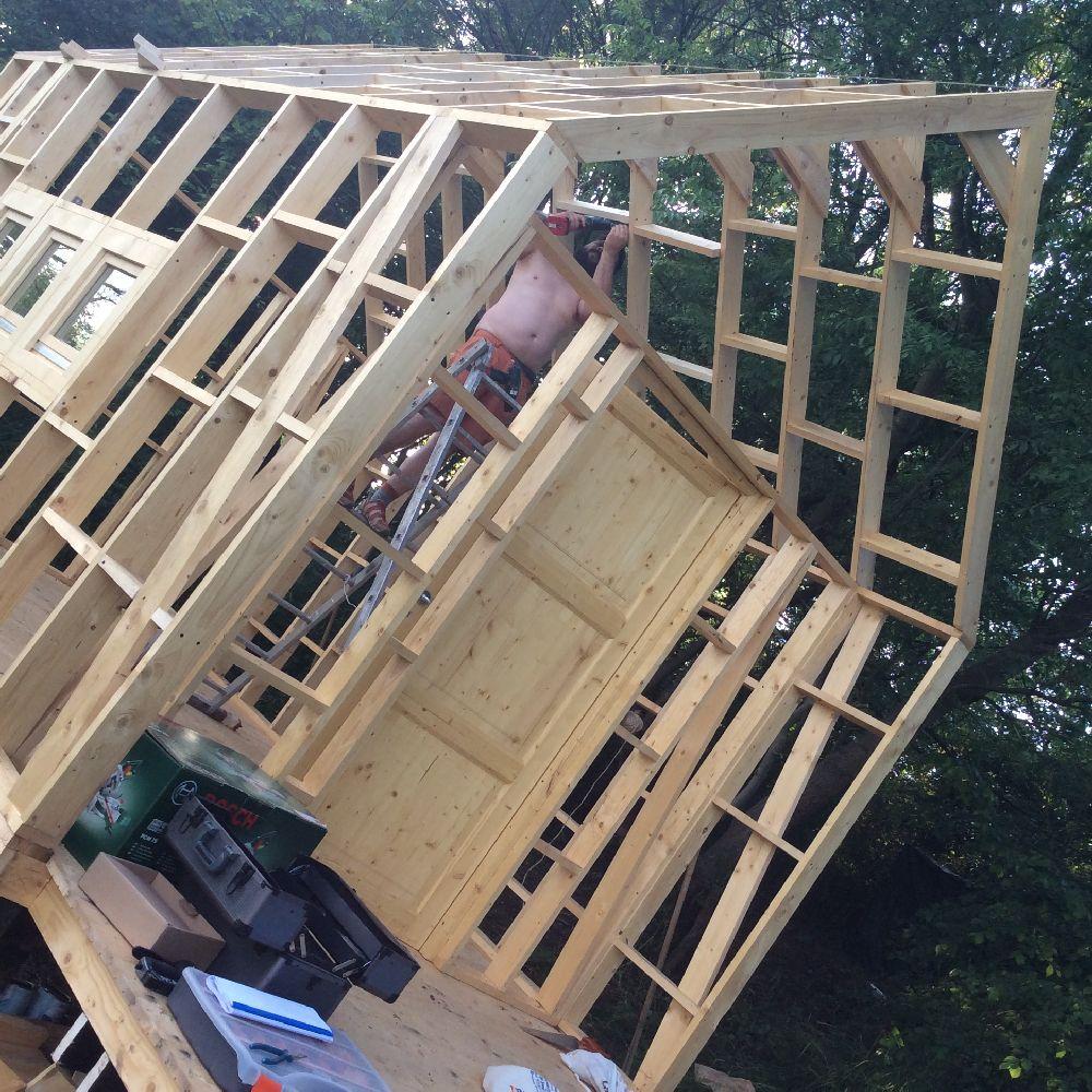adelaparvu.com despre casuta din lemn pentru gradina construita cu unelte Bosch, design Stefan Lazar, Foto Stefan Lazar (28)