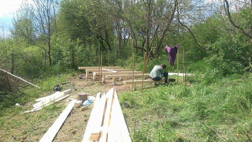 adelaparvu.com despre casuta din lemn pentru gradina construita cu unelte Bosch, design Stefan Lazar, Foto Stefan Lazar (7)