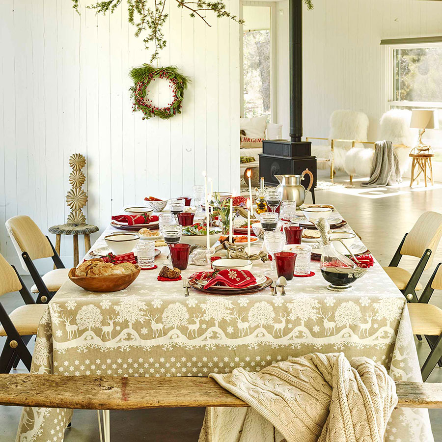 adelaparvu.com despre decor de Craciun in spirit nordic, colectia Zara Home Christmas 2015 (16)